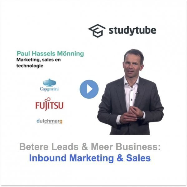 Studytube inbound marketing & sales e-learning